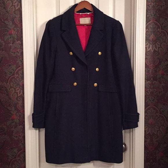 d47cdbc8718 Banana republic jackets blazers banana republic navy pea coat size jpg  580x580 Navy pea coats sale